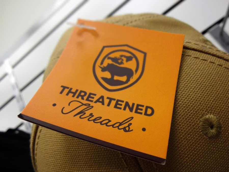 "Kilpailutyö #100 kilpailussa Design a Logo for ""Threatened Threads"""