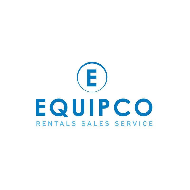 Bài tham dự cuộc thi #                                        448                                      cho                                         EQUIPCO Rentals Sales Service