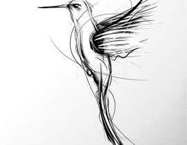 #276 for Bird design for tattoo on shoulder blade by jmvanbreda