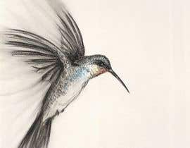 #319 for Bird design for tattoo on shoulder blade by Malou24
