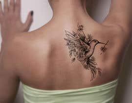 #331 for Bird design for tattoo on shoulder blade by biboofamily