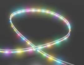 HiteshGupta12 tarafından I need a 3D modeler to create an LED light strip için no 12