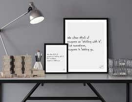 #26 para 10 Quote Poster designs por DesignerMaster12