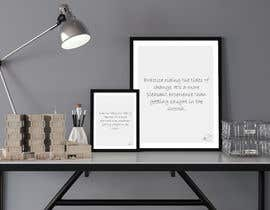 #29 para 10 Quote Poster designs por DesignerMaster12