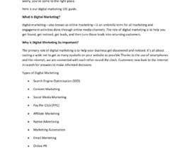 Nro 2 kilpailuun Write an article on any of the topics below käyttäjältä Sandy572