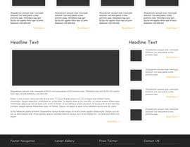 Nro 30 kilpailuun Build me a one page website wordpress theme site käyttäjältä CreativeTanvir