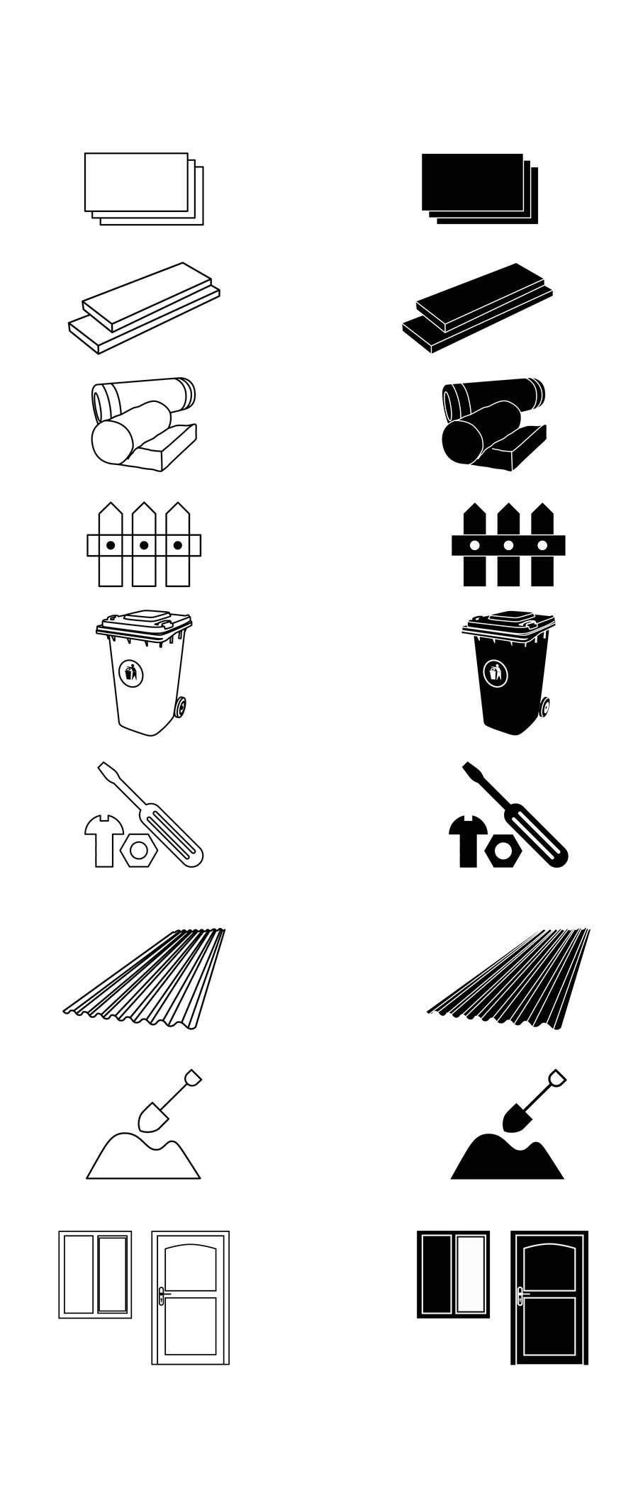 Penyertaan Peraduan #                                        21                                      untuk                                         Create 9 x Custom SVG Icons