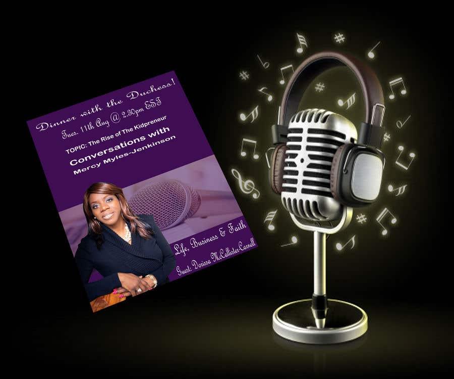 Kilpailutyö #                                        5                                      kilpailussa                                         Podcast Flyer