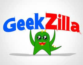 #129 para Logo Design for GeekZilla de Anmech