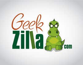 #24 para Logo Design for GeekZilla de purplecowads