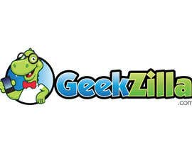 #86 para Logo Design for GeekZilla de colorbone