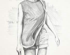 nº 12 pour Sketching old photos par jeslynsama