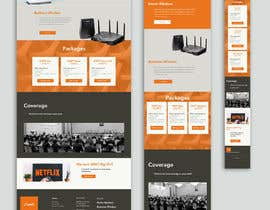 #48 for A Wi-Fi ISP startup needs website landing page. by paulmkhonta