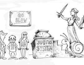#17 for Justice Delayed is Justice Denied - cartoon / caricature af ecomoglio