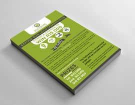 #52 for A5 print design for competition af alakram420