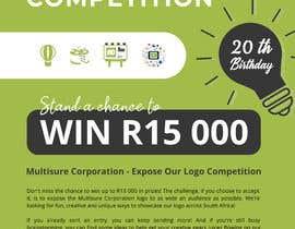 #20 for A5 print design for competition af lihdaf