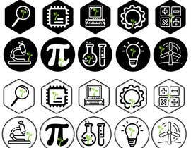 nº 77 pour Total of 10 logos/icons needed for the National Institute on Specific Teaching's sub-programs par boskomp