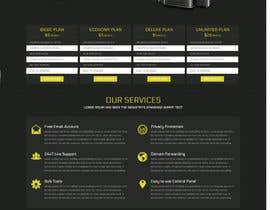 #7 for Design a Website Mockup + Logo by aplesea95