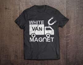 #18 cho Design me a tshirt - White Van Magnet bởi Shakibfardin