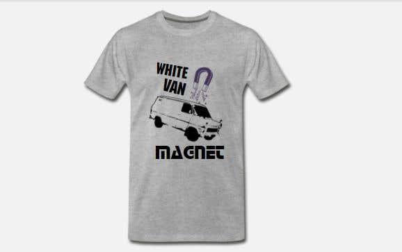 Bài tham dự cuộc thi #                                        19                                      cho                                         Design me a tshirt - White Van Magnet