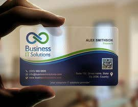 aminur33 tarafından Design some Business Cards for Business IT Solutions için no 25