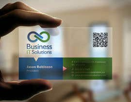 smshahinhossen tarafından Design some Business Cards for Business IT Solutions için no 18