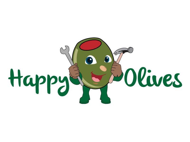 """Intrarea #21 pentru concursul """"Design a Logo for Happy Olives - Construction"""""""