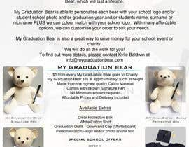 #2 for Create an A4 Brochure design for My Graduation Bear by hackerzhell2