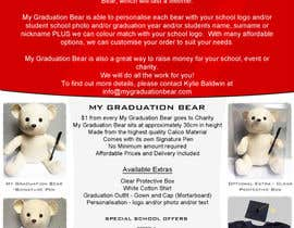 #27 pentru Create an A4 Brochure design for My Graduation Bear de către hackerzhell2