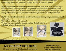 #10 for Create an A4 Brochure design for My Graduation Bear by xaviergarcia99