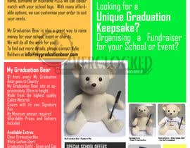 #4 pentru Create an A4 Brochure design for My Graduation Bear de către Averylim