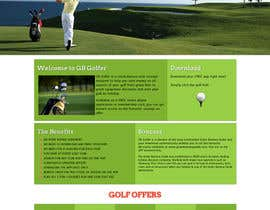 nº 4 pour Wordpress Theme Design for GB Golfer par YosuaFreelance