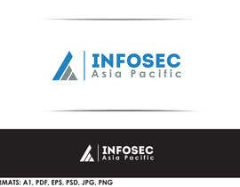Nro 33 kilpailuun Design a Logo for:  Infosec Asia Pacific käyttäjältä tolomeiucarles