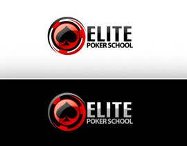 #113 para Logo Design for ELITE POKER SCHOOL de pinky