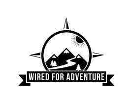 #55 untuk Masthead and logo design for Wired For Adventure oleh BrilliantDesign8