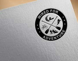#33 untuk Masthead and logo design for Wired For Adventure oleh flyhy