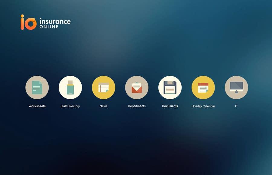 Bài tham dự cuộc thi #12 cho Design an Homepage mockup for an Intranet