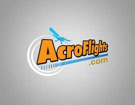 #12 for Logo for Aerobatic Flights Web Site (AcroFlights.com) by AhmedAmoun