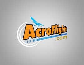 #12 untuk Logo for Aerobatic Flights Web Site (AcroFlights.com) oleh AhmedAmoun