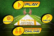 Contest Entry #126 for Graphic Design - Give our Paper Football Game Menus a NEW LOOK!