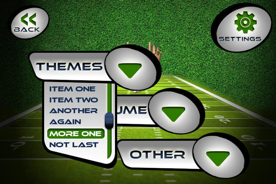 #143 for Graphic Design - Give our Paper Football Game Menus a NEW LOOK! by logodesire