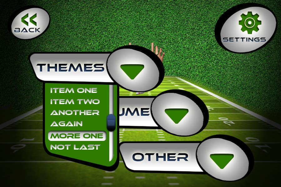 #144 for Graphic Design - Give our Paper Football Game Menus a NEW LOOK! by logodesire