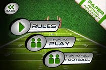 Contest Entry #150 for Graphic Design - Give our Paper Football Game Menus a NEW LOOK!