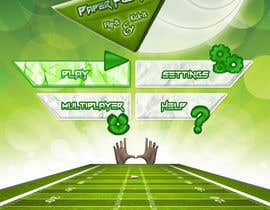 #106 cho Graphic Design - Give our Paper Football Game Menus a NEW LOOK! bởi madiful