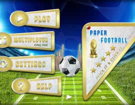 #114 cho Graphic Design - Give our Paper Football Game Menus a NEW LOOK! bởi DLS1