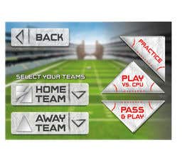 nº 113 pour Graphic Design - Give our Paper Football Game Menus a NEW LOOK! par anamiruna