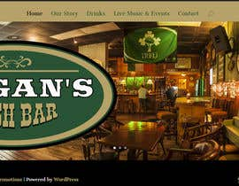 #23 untuk Build a Website for an Irish Pub oleh DesignMedia2010