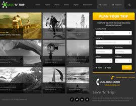 #14 for Design a Website Mockup for our travel review website (saveNtrip.com) by xsasdesign
