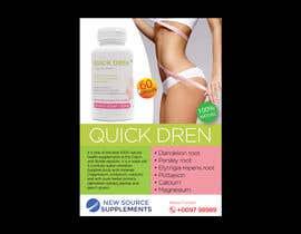 Nro 35 kilpailuun Quick Dren leaflet käyttäjältä shawriter1