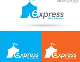 #113 for Design a Logo for 'Express Tents & Events' by puaarvin